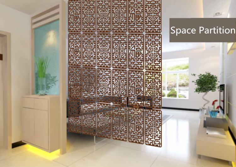 Chinese Style Fiber Plank Fashion Carved Cutout Screen Partition Vertical Suspension Cut Off Restaurant Fiber Carved Screens(China (Mainland))