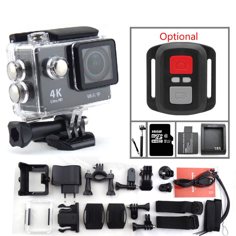 Action camera EKEN H9 Ultra HD 4K WiFi video sport camera 1080P 170 degree Helmet Cam underwater waterproof go pro style camera