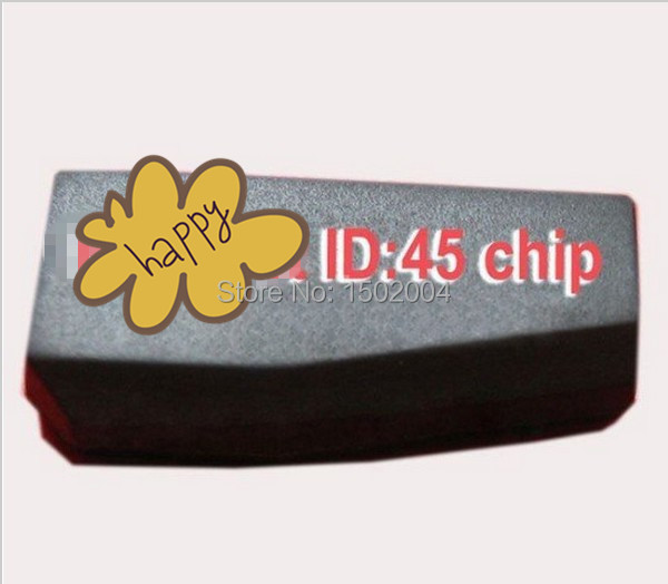 Auto Transponder Chip ID45 for Peugeot ID45 Carbon Chip(China (Mainland))
