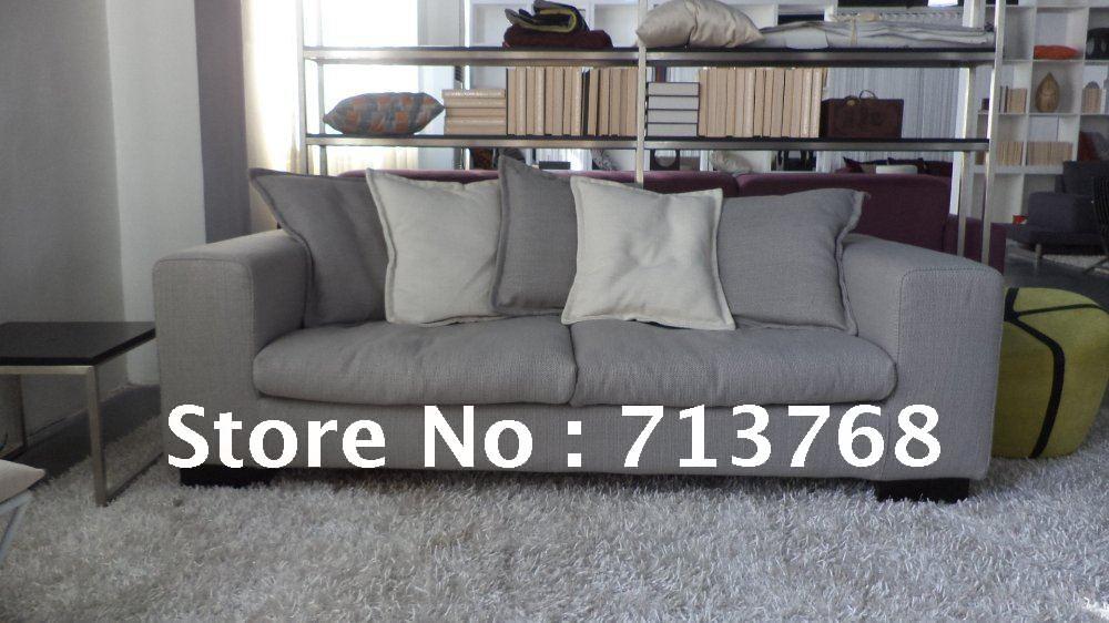 Modern furniture / living room fabric sofa / popular sofa / 3 seater MCNO9976(China (Mainland))