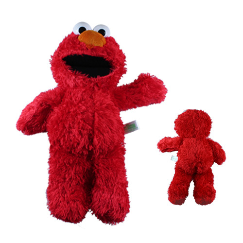 FREE SHIPPING Anime Cartoon Cute !Hot ! Sesame Street ELMO 30cm Soft Plush Doll Toy(China (Mainland))