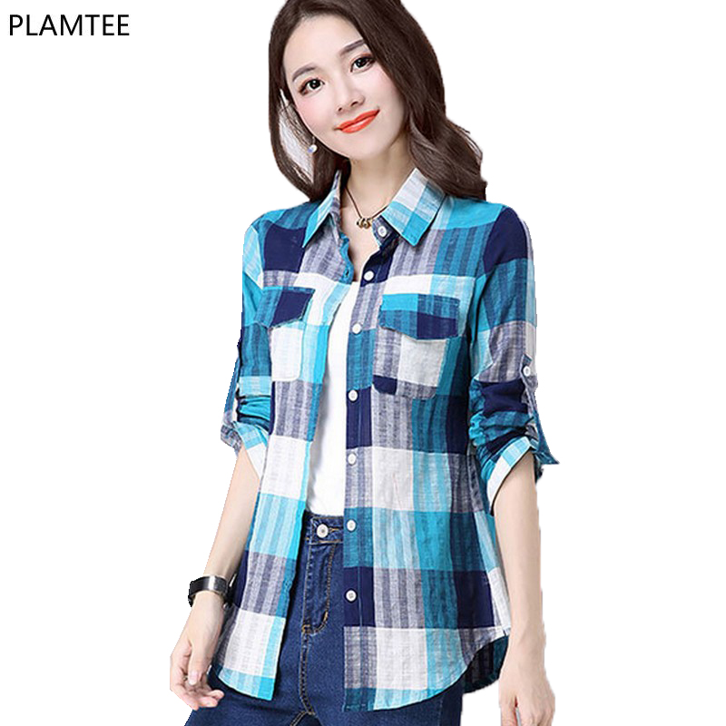 Compare Prices On Orange Plaid Shirts Online Shopping Buy