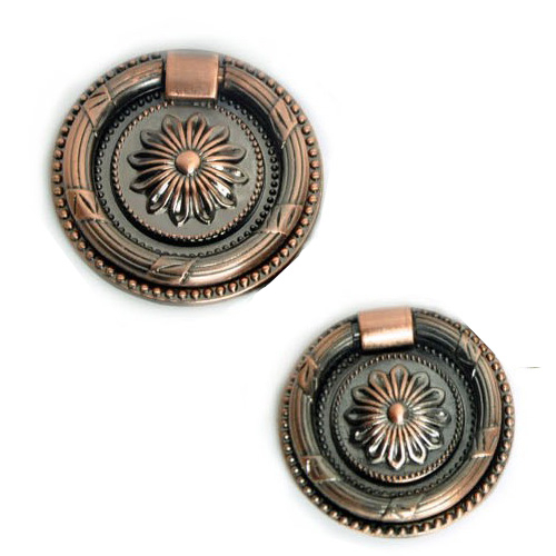 Гаджет  56mm Antique style copper furniture knob/pull/handle for doors/cabinets/cupboard None Мебель