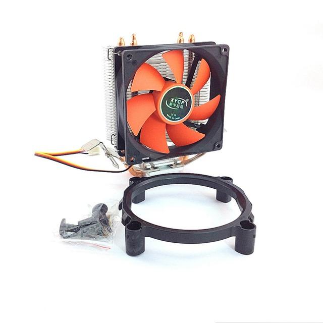 HOT SALE 1PC 3PIN DC 12V CPU Heatsinks Cooler Cooling PC computer Fan For Intel LGA 775,  bumblebee fan FREE SHIPPING #FS033