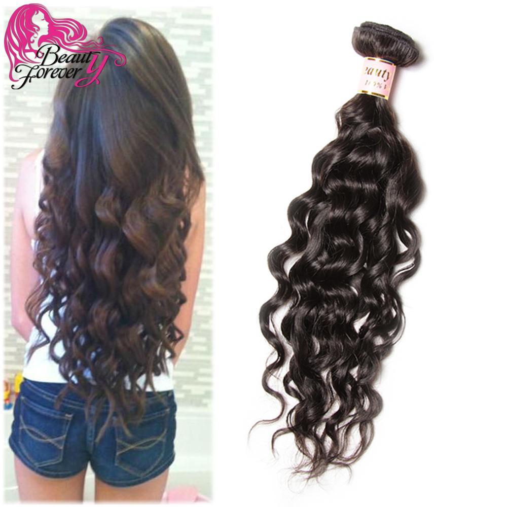Grade 7A Indian Virgin Hair Natural Wave Cheap RAW Indian Curly Hair 1pc Wet And Wavy Virgin Indian More Wave Human Hair Weave(China (Mainland))
