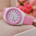 Children s Silicone Quartz Wrist Watches Kids Sports Watches Gift For Girls Boys Students waterproof Wristwatches