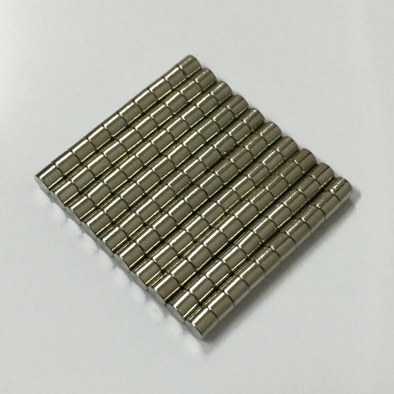 3*3mm Magnetic Materials Neodymium Magnet Mini Small Round Disc 50 Pieces/Pack