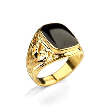 Мужские кольцо, Позолота насильственные кольцо для мужчины
