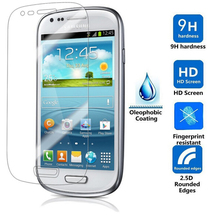 Explosion Proof Clear Front Premium Tempered Glass Screen Protector Protective Film Guard For Samsung Galaxy S3 SIII i9300(China (Mainland))