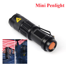 Mini penlight 2000LM Waterproof LED Flashlight Torch free shipping(China (Mainland))