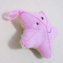 Buy Cute Baby Bath Sponge Cartoon Starfish Super Soft Cotton Brush Rubbing Towel Ball New Bath Gloves TB Sale for $1.19 in AliExpress store