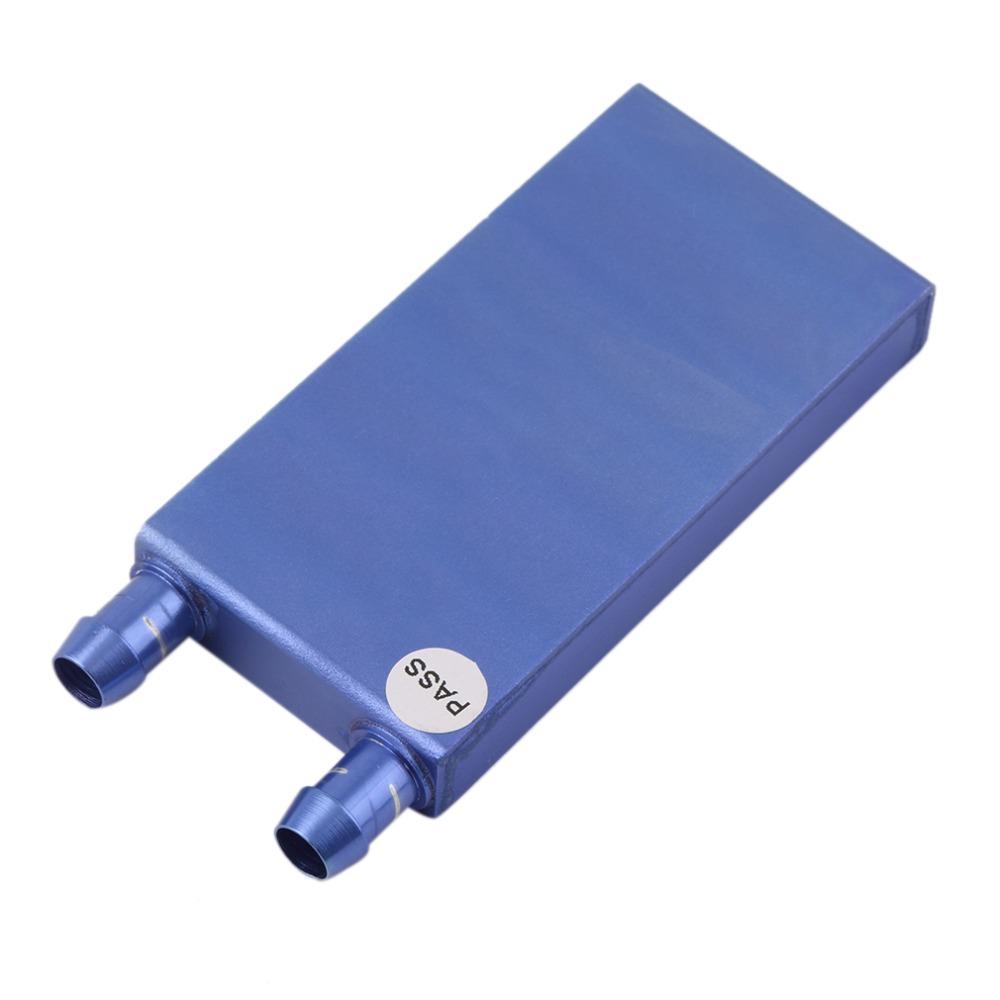 40*80*12mm Aluminium Water Cooling Waterblock Heatsink Block Liquid Cooler For CPU GPU Laser Head Industrial Control Cabinet(China (Mainland))
