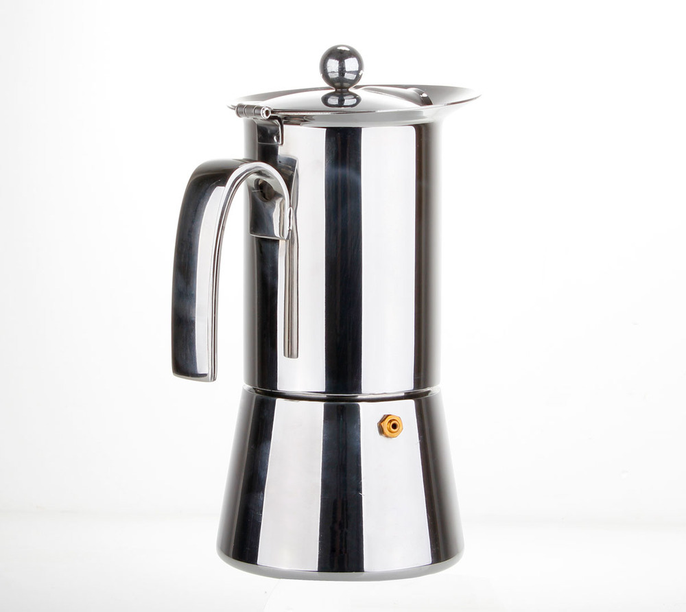 Coffee Maker Stainless Steel Pot : High grade stainless steel mocha pot coffee maker / electric coffee maker safe and durable home ...