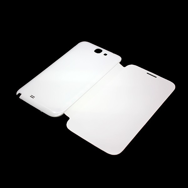New Flip Leather Case Battery Cover For Haipai Noble H868,H868+ Cell Phone White/Black Free Shipping