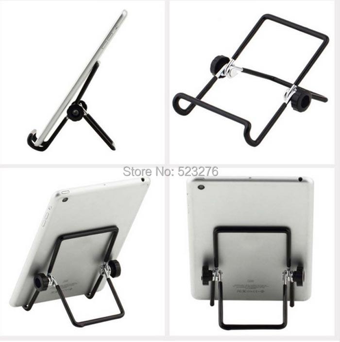 Новый самый дешевый регулируемый портативный складной металлический настольная подставка планшет держатель для 7