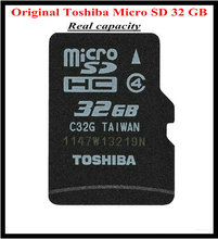 Original TOSHIBA brand Micro SD Real Capacity 4GB 8GB 16GB 32GB 64GB Memory Card WITHOUT RETAIL PACKAGIN+Free shipping