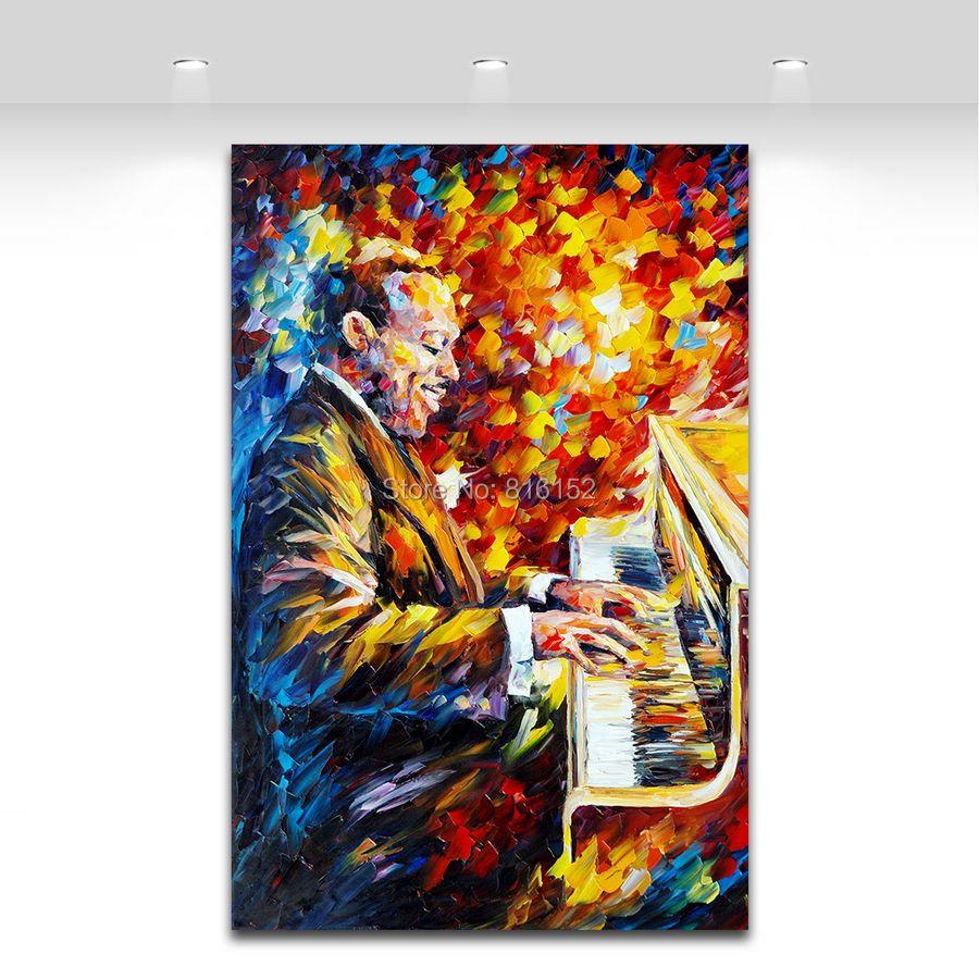 popular paintings jazz