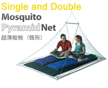 Single Double Outdoor Mosquito Net Camp travel Shield Pyramid Tent Netting Garden Fly Screen Shelters Survival