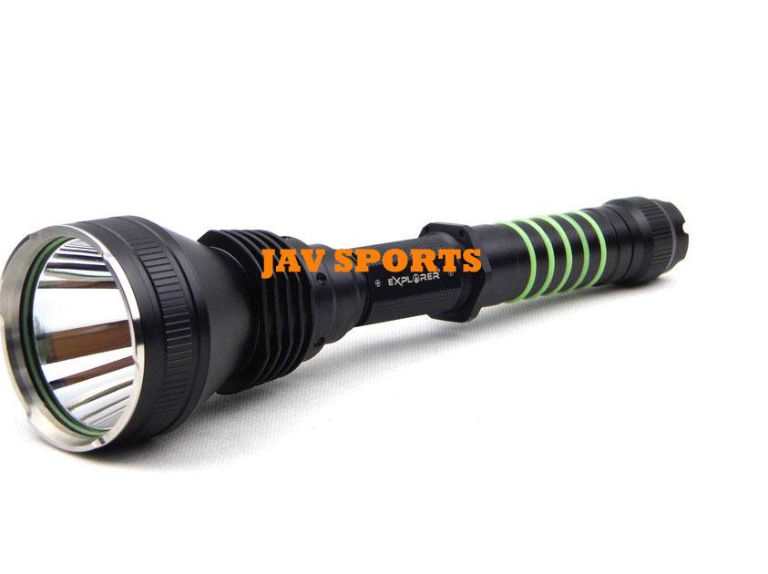 EXPLORER E54 Tactical Hunting Flashlight,Cree T6,700lm,300m,IPX-8 outdoor flashlight+Free shipping(SKU12040011)<br><br>Aliexpress