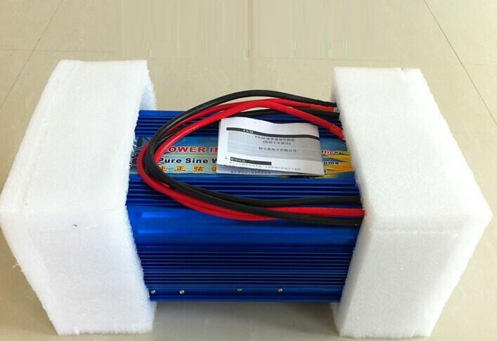 DC12V to AC220V 50HZ 3000W Pure Sine Wave Inverter 6000w peak For Wind and solar energy(China (Mainland))
