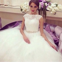 Buy Robe De Mariage 2017 Princess Wedding Dresses Romantic Ball Gown Wedding Dresses Lace Vintage Bridal Vestido De Novia ) for $98.61 in AliExpress store