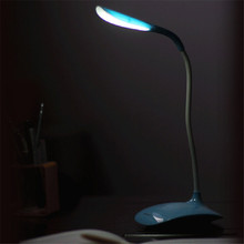 Superior Adjustable USB Rechargeable Touch Sensor LED Desk Table Lamp Reading Light June23(China (Mainland))