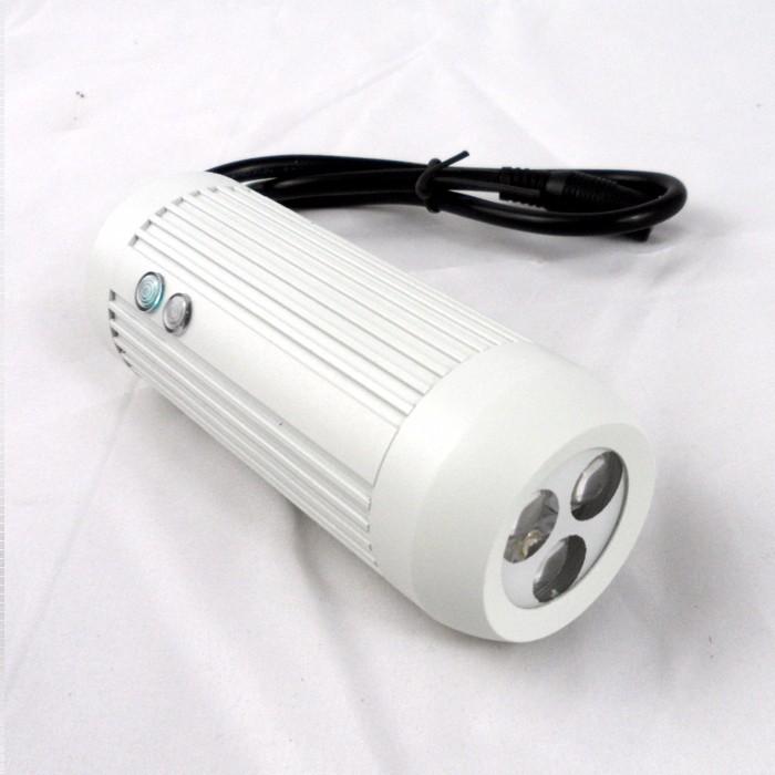CCTV Light of 30 Degree Black 940nm LED Barrel Light Source IR Illuminator 30M Invisbile Infrared for CCTV camera