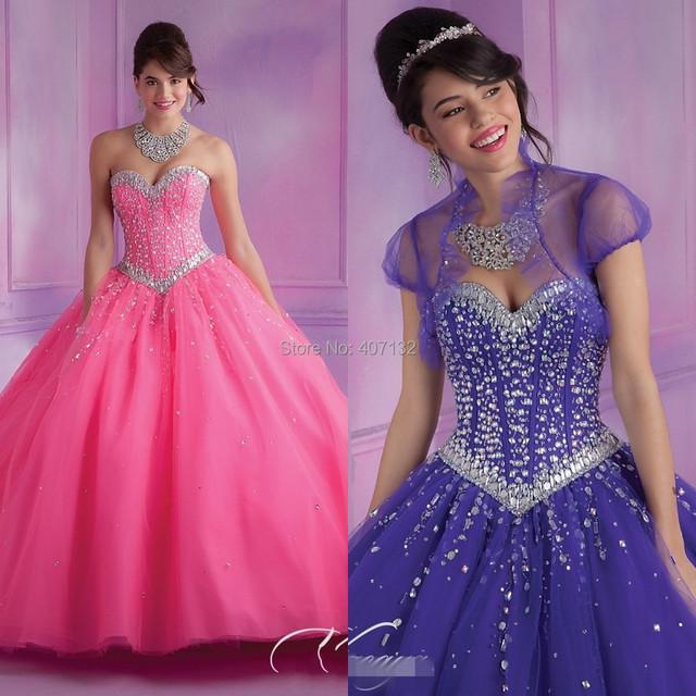 Дешево-бальное платье бесплатная доставка на заказ кристалл тюль Большой размер розовый ...
