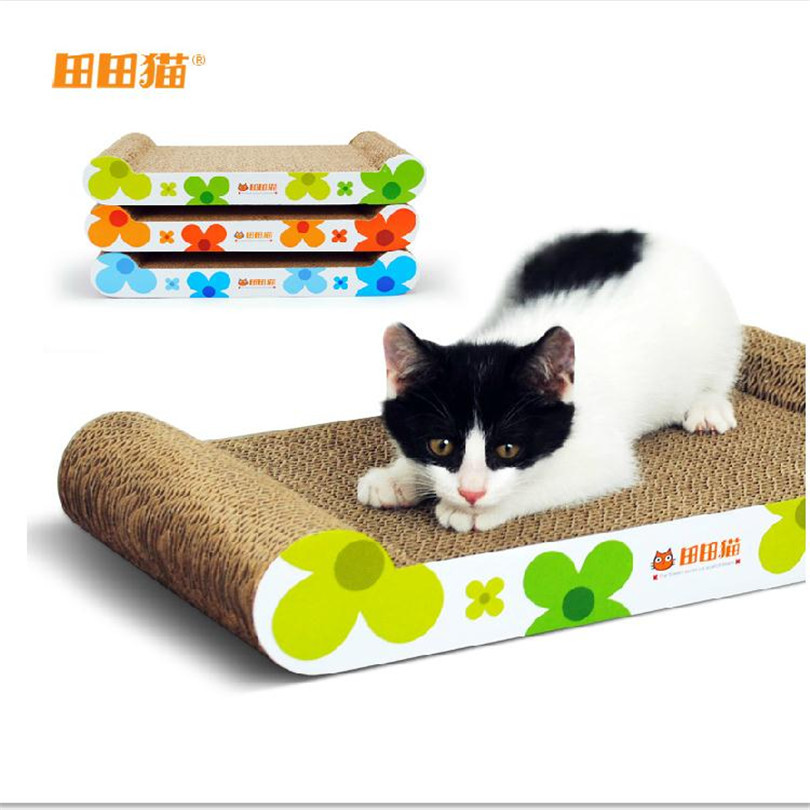Cat Toy Hot Sale Pet toys Cats Kitten Scratcher Scratching Post Interactive Toy For Pet Rascador Gato mascotas cat claws(China (Mainland))