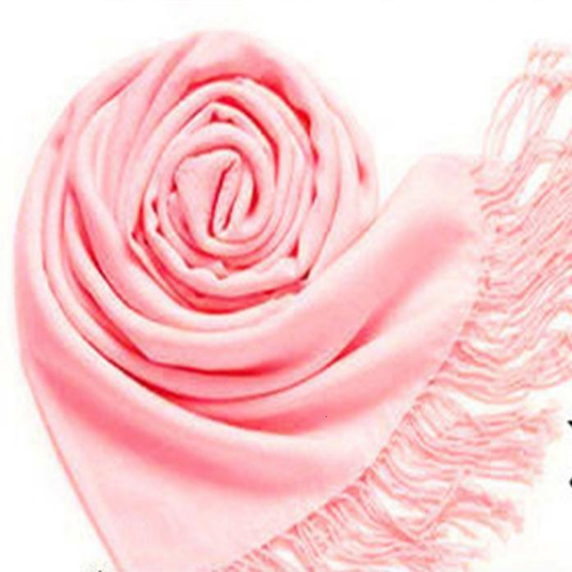 Attractive GOOD Quality Winter Pashmina Cashmere Silk Solid Shawl Wrap Women's Girls Ladies Scarf Accessories AG20(China (Mainland))