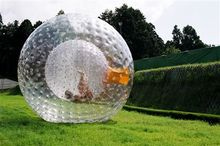zorb ball 2.5 M PVC  0.8mm inflatable ball Human hamster ball outdoor toys(China (Mainland))