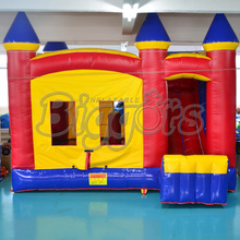 FREE SHIPPING BY SEA Cheap Inflatable Bouncer Small Bouncy Castle With Inflatable Slide For Sale(China (Mainland))