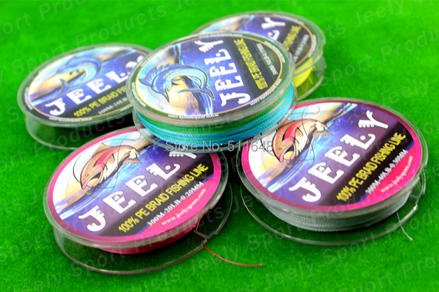 Free Shipping High Power Best Quality 300M/PCS PE Braid Fishing Lines