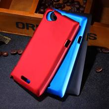 Buy New Multi Colors Luxury Rubberized Matte Plastic Hard Case CoverFor Sony Xperia L S36h C2104 C2105 Cell Phone Cover Cases for $1.94 in AliExpress store