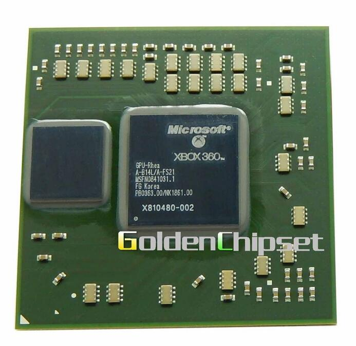 New X810480-002 XBOX360 Microsoft GPU Video Chipset Processor Chip 2011+ Good Working Chipset free shipping + tracking number(China (Mainland))