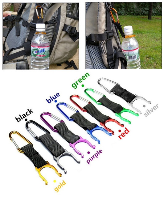 Hiking Water Bottle Carabiner