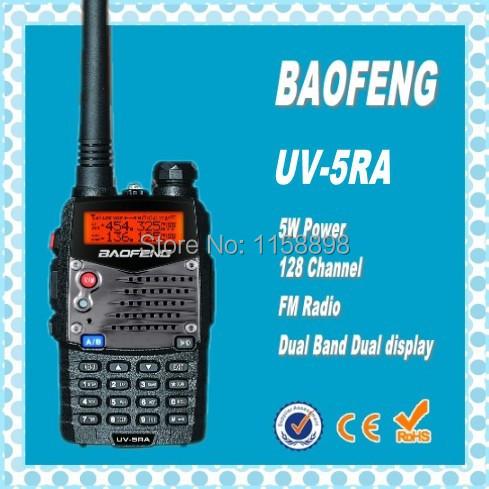 DHL freeshippin+2014 new baofeng uv5r version uv-5ra handheld walkie-talkie double band double display radio scanner uv 5ra(China (Mainland))