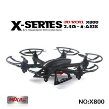 Buy New Arrival MJX X800 2.4G 6-Axis RC Helicopter Quadcopter Drone Can Add C4002 & C4005 & C4006 (FPV) Camera Upgrade MJX X600 X400 for $36.00 in AliExpress store