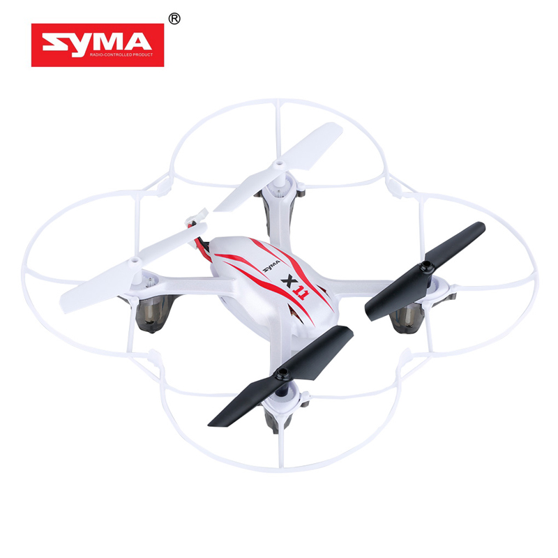 SYMA X11 2.4G 4CH quadcopter 6 Axis Gyro mini drone rc helicopter with Flash Lights dron(China (Mainland))
