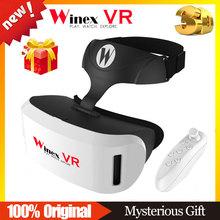 Winex VR Google Cardboard XiaoZhai BOBO Z4 Virtual Reality 3D Glasses VR BOX 2 3 VR Shinecon Headset + Bluetooth Remote Control(China (Mainland))