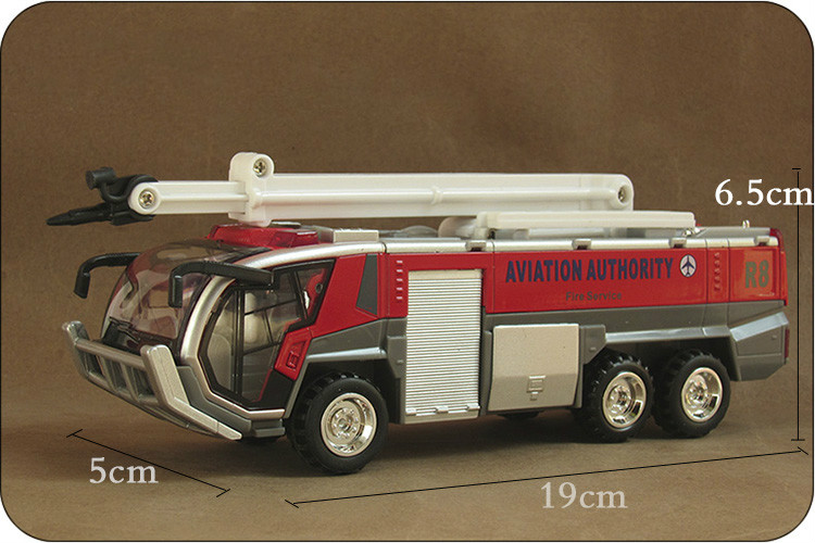 1:32 Voiture Car Classical Brinquedos Airport Fire Engines Truck Die Cast Metal Car Model Kids Toys Men Gift Collection(China (Mainland))
