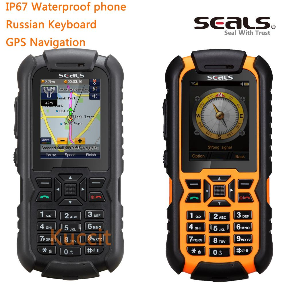 unlocked Mobile phone brand Britain seals VR7 IP67 rugged waterproof Shockproof dustproof phone GPS Navigation Russian Keyboard(China (Mainland))