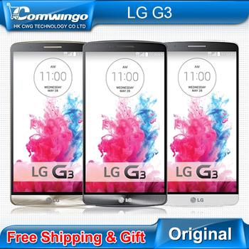 Мобильный телефон LG G3, d855 D850 D851 F400 3 GB RAM 32 гб ROM четырёхъядерный WCDMA LTE 5,5 '' 2560 * 1440 P X 2 K экран IPS 13.0 mp франсуа