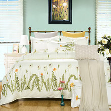 2015 NEW HOT Promotion !wedding bedclothes tree flower bedcover bed sheet Linen Duvet/Comforter/Quilt cover sets 4pc bedding set(China (Mainland))