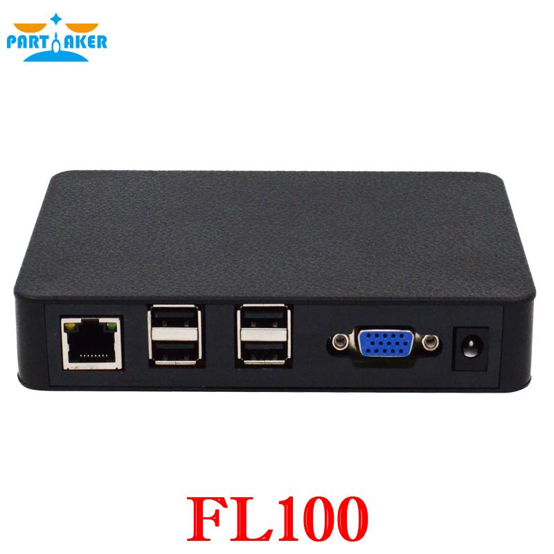 Partaker Linux Thin Client network terminal Cloud computer Mini PC Station FL100 All Winner A20 512MB RAM Linux 3.0 RDP 7.0(China (Mainland))