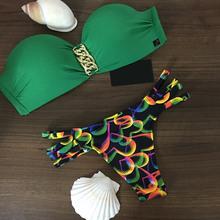 25 Styles !! Triangle Bikini Sets Costumi Da Bagno Sexy Women's Bandeau Trikini Push Up Vintage Beach Wear Bathing Suit Swimwear(China (Mainland))