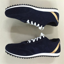 Mens Shoes Casual Forrest Gump Scarpe Breathable Massage Flats Sapatos Masculino Low-Top Canvas Driving Zapatos Casual Shoes