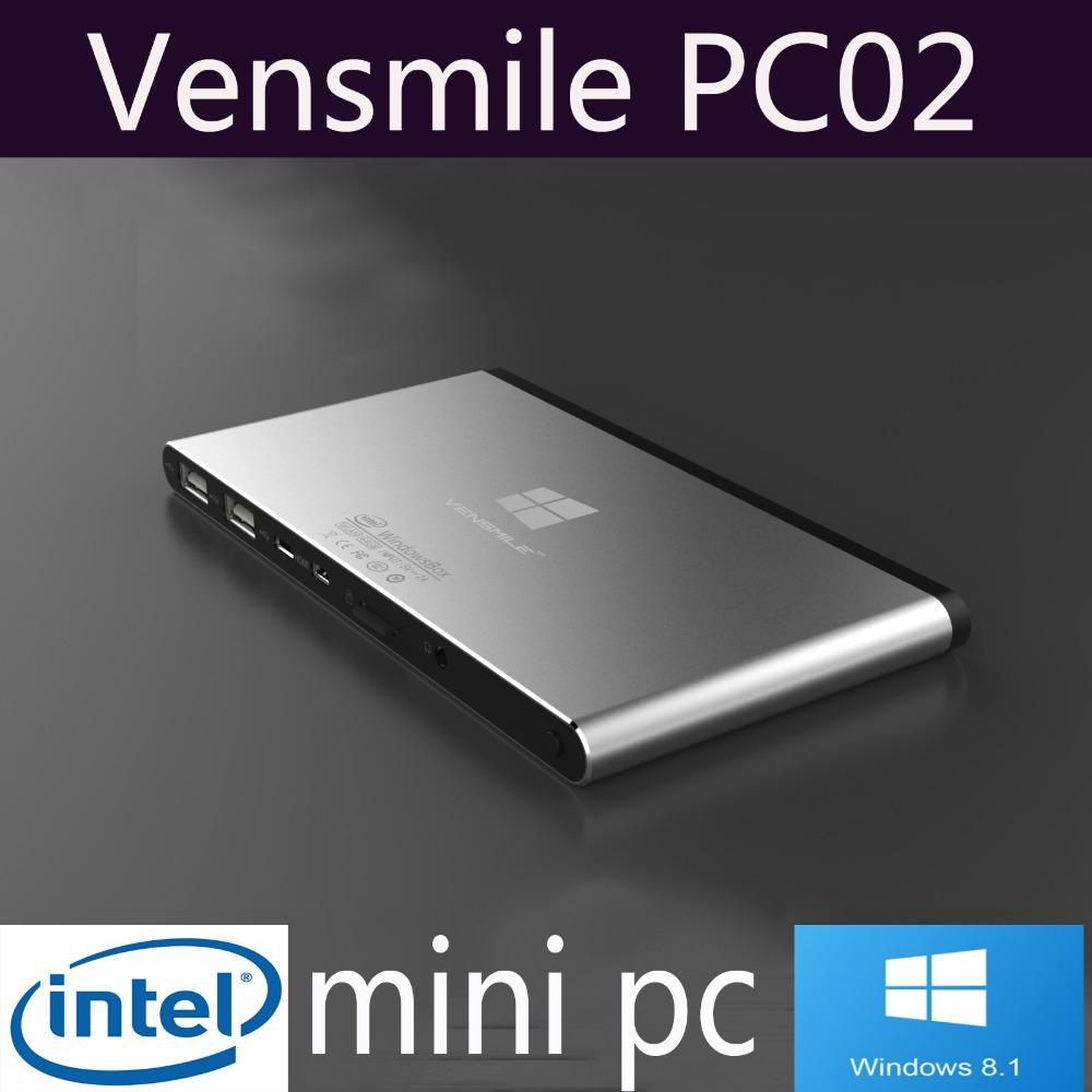 Vensmile В10 32 ГБ ОС Windows 8.1 умный мини-компьютер ТВ-бокс с поддержкой miracast Интернет плеер четырехъядерный процессор Intel атом Z3735F 1.33 гр 2 ГБ оперативной памяти