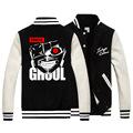 Tokyo ghouls Kaneki Ken jacket kind of basic research mask cosplay costume two colors fleece jacket