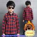 New children s brand blouse for boys 5 16 years kids Boys Winter long sleeve clothes